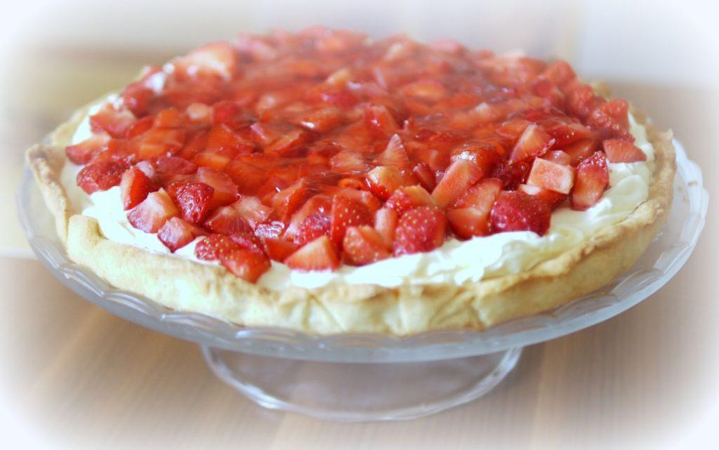 Erdbeer-Vanille-Tarte   Backen   Kuchen   Erdbeeren