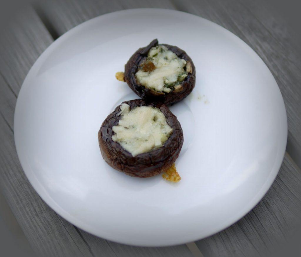 Zweierlei gegrillte Champignons | Rezept | Grillen | vegetarisch