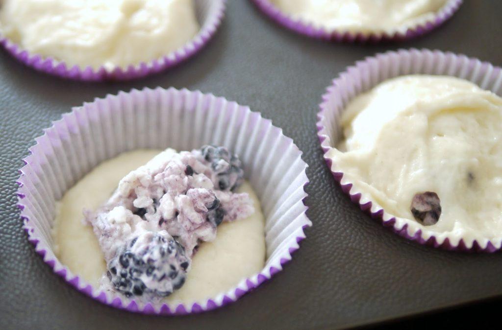 Cupcakes mit Brombeerfüllung   Backen   Muffins   Rezept