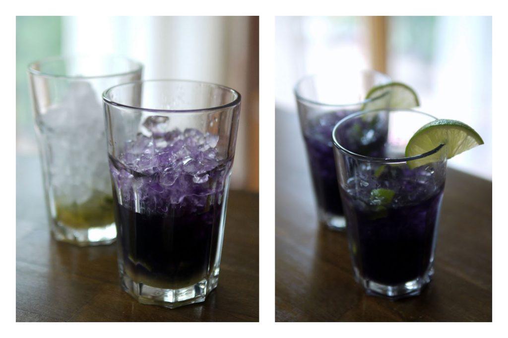 Black Caipirinha | Cocktail | Alkohol | Getränk | Rezept