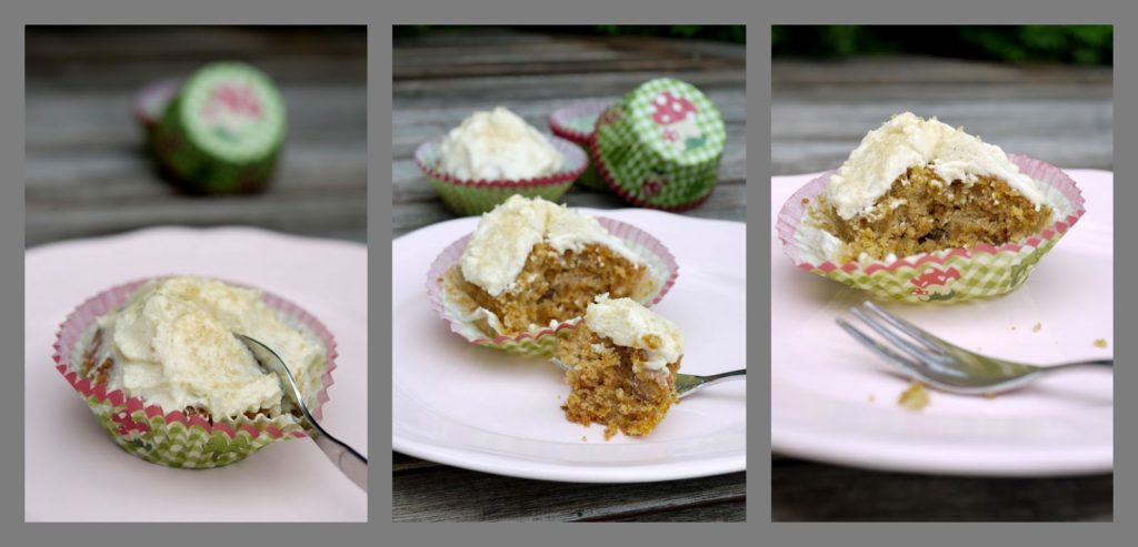 Möhrencupcakes mit gebräunter Buttercreme   Rezept   Backen   Muffins