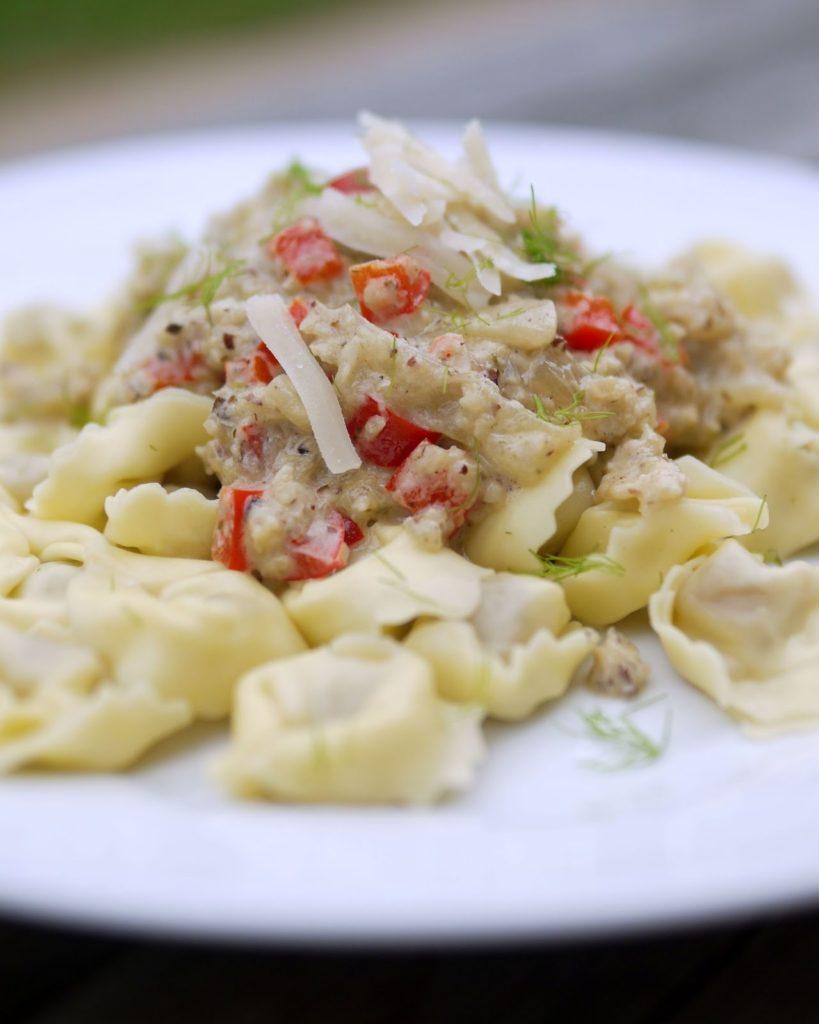 Pasta mit Fenchel-Nuss-Soße | Rezept | Kochen | Essen | Nudeln