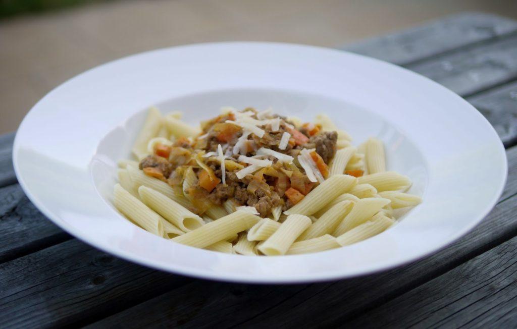 Exotische Hackfleischpfanne   Rezept   Kochen   Pasta   Essen