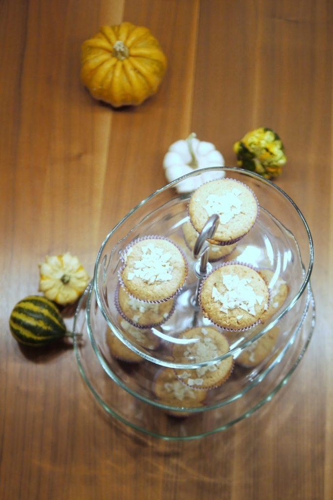 Kürbis-Muffins mit weißer Schokolade | Backen | Rezept | Muffins