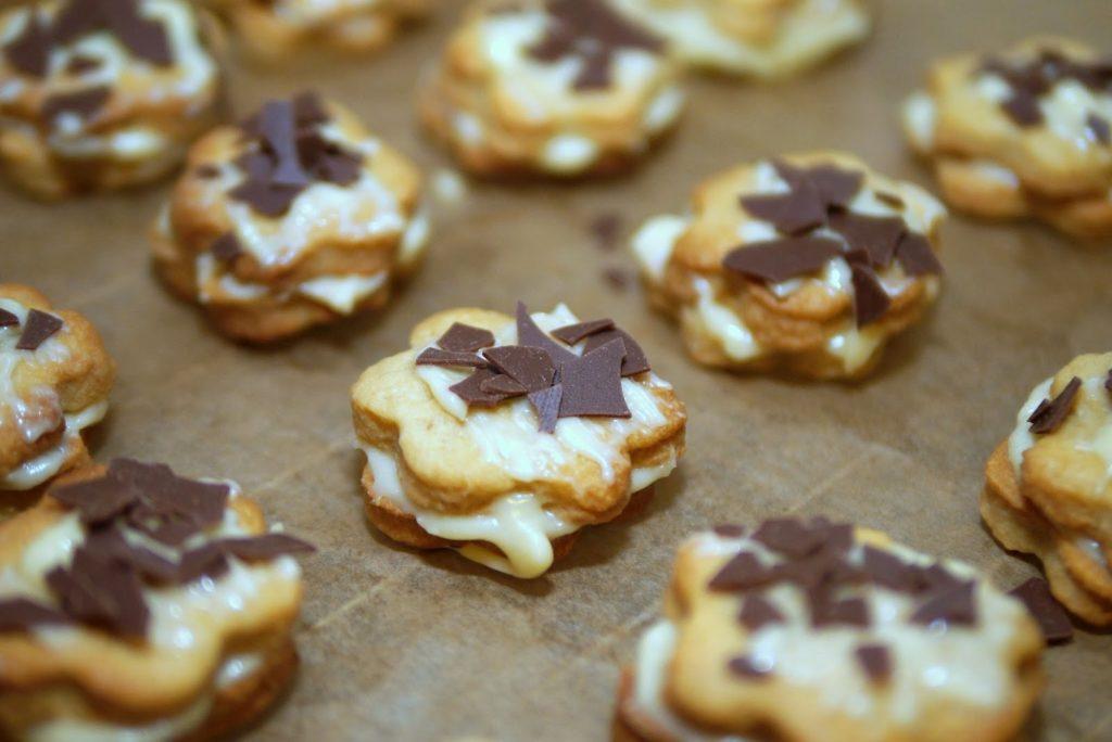 Café latte – Kekse   Rezept   Backen   Weihnachten   Plätzchen