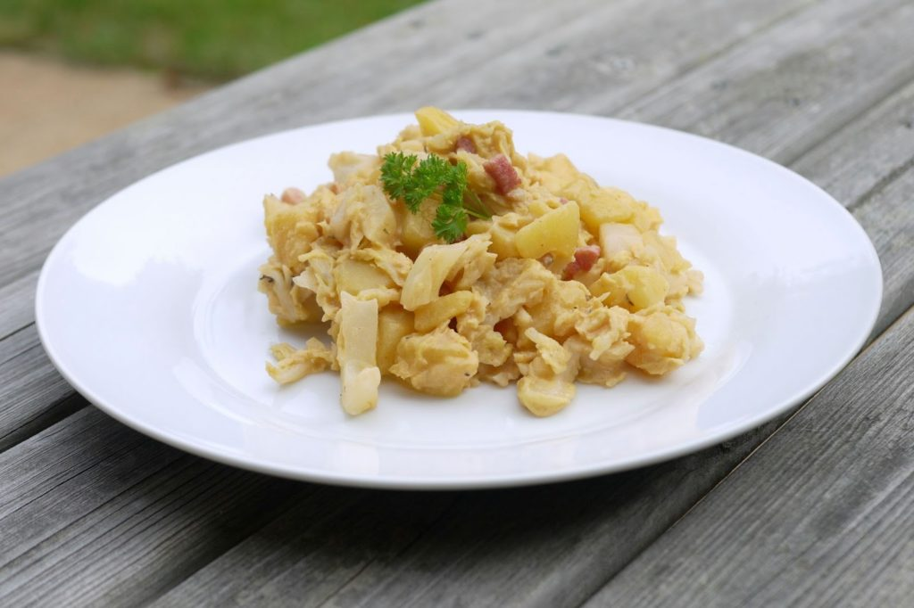 Kartoffel-Wirsing-Pfanne | Rezept | Essen | Kochen