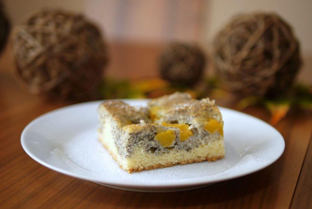 Pfirsich-Mohn-Kuchen | Backen | Kuchen | Rezept