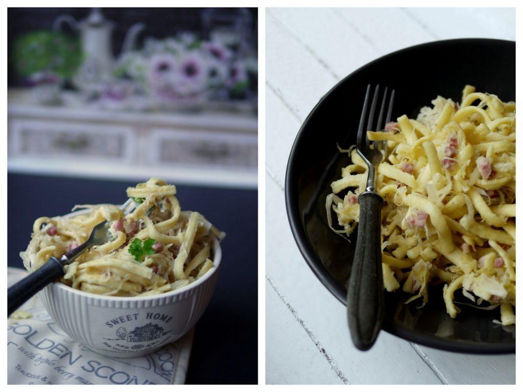 Sauerkraut-Spätzle-Pfanne | Rezept | Kochen | Essen | Feierabendküche