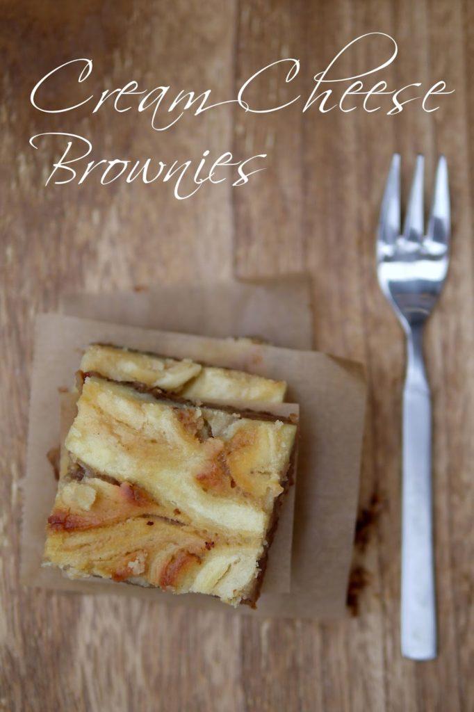 Cream Cheese Brownies | Backen | Kuchen | Rezept
