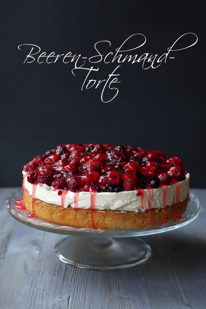 Beerentorte mit Schmand | Torte | Backen | Rezept