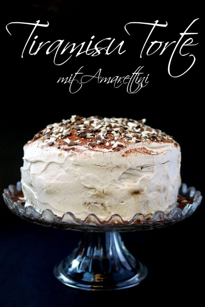 Tiramisu Torte mit Amarettini   Rezept   Backen   Torte