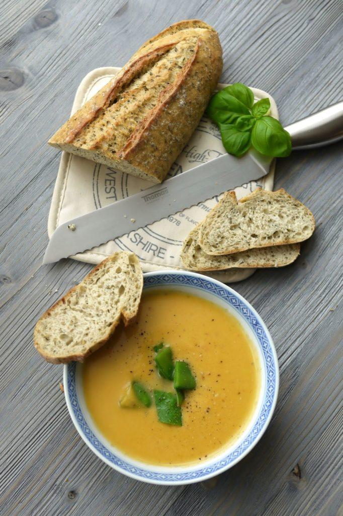 Süßkartoffel-Kokos-Suppe | Rezept | Essen | Kochen