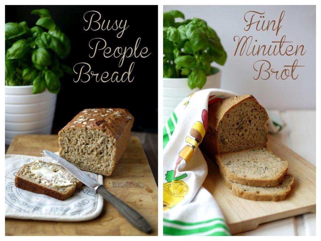 Experimente aus meiner Küche: Busy People Bread vs. Fünf Minuten Brot