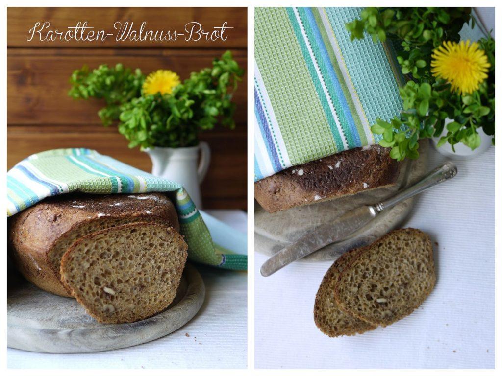 Experimente aus meiner Küche: Karotten-Walnuss-Brot