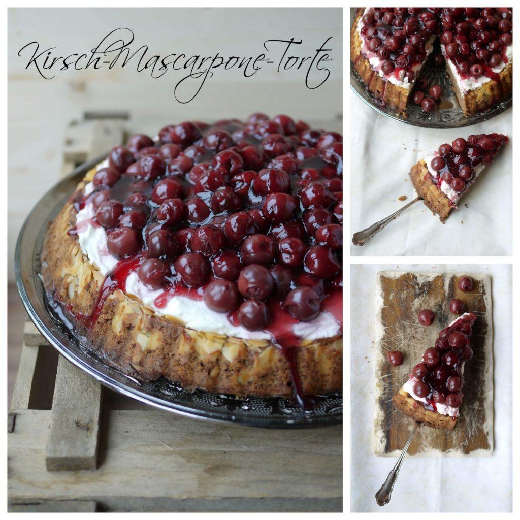 Experimente aus meiner Küche: Kirsch-Mascarpone-Torte