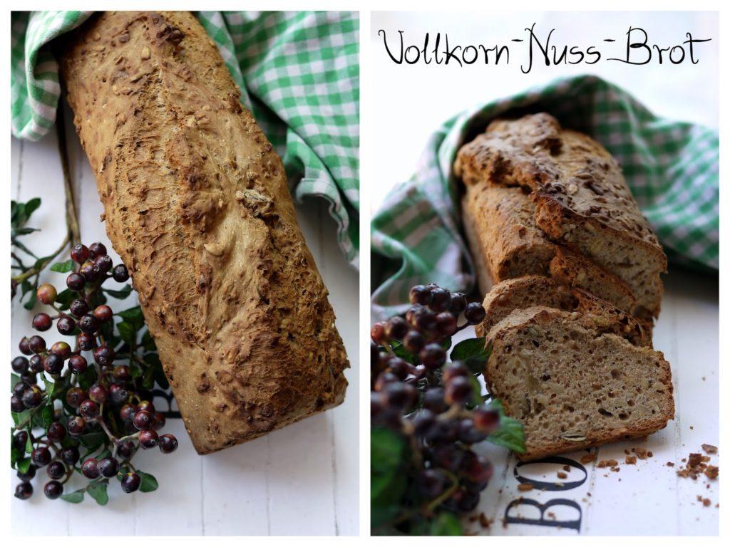 Experimente aus meiner Küche: Vollkorn-Nuss-Brot