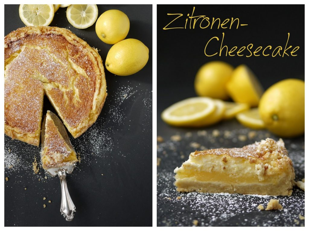 Experimente aus meiner Küche: Zitronen-Cheesecake #ichbacksmir