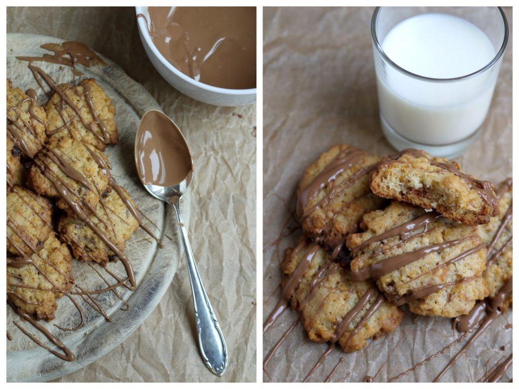 Experimente aus meiner Küche: Crispy Cookies mit Cornflakes und Schokolade