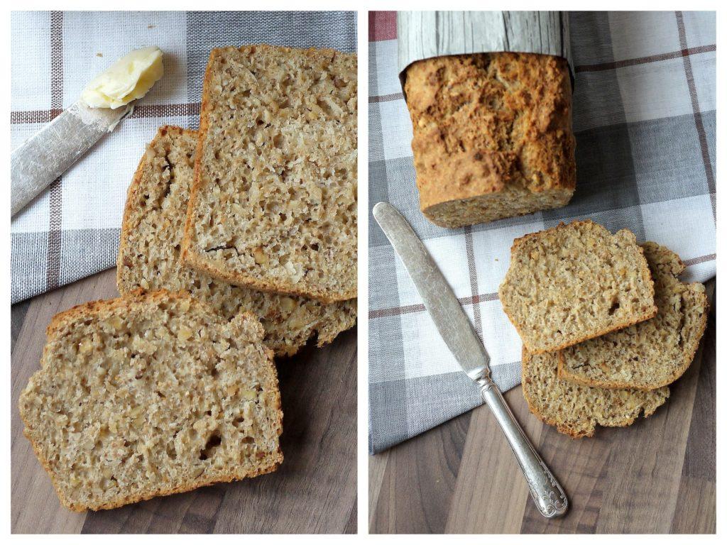 Experimente aus meiner Küche: Haselnuss-Brot mit Haferflocken und Mandeln