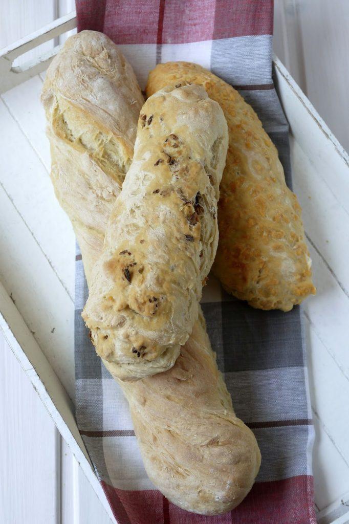 Experimente aus meiner Küche: Bread Baking (Fri)day: Dreierlei Baguette #breadbakingfriday