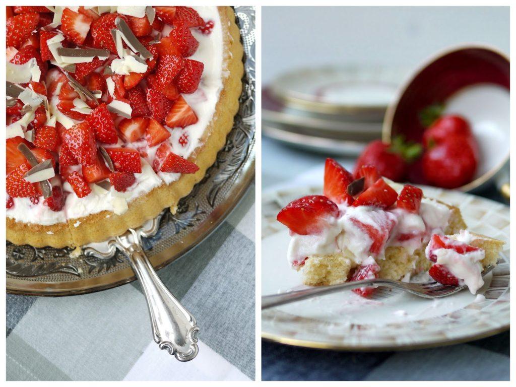 Experimente aus meiner Küche: Erdbeer-Joghurt-Torte