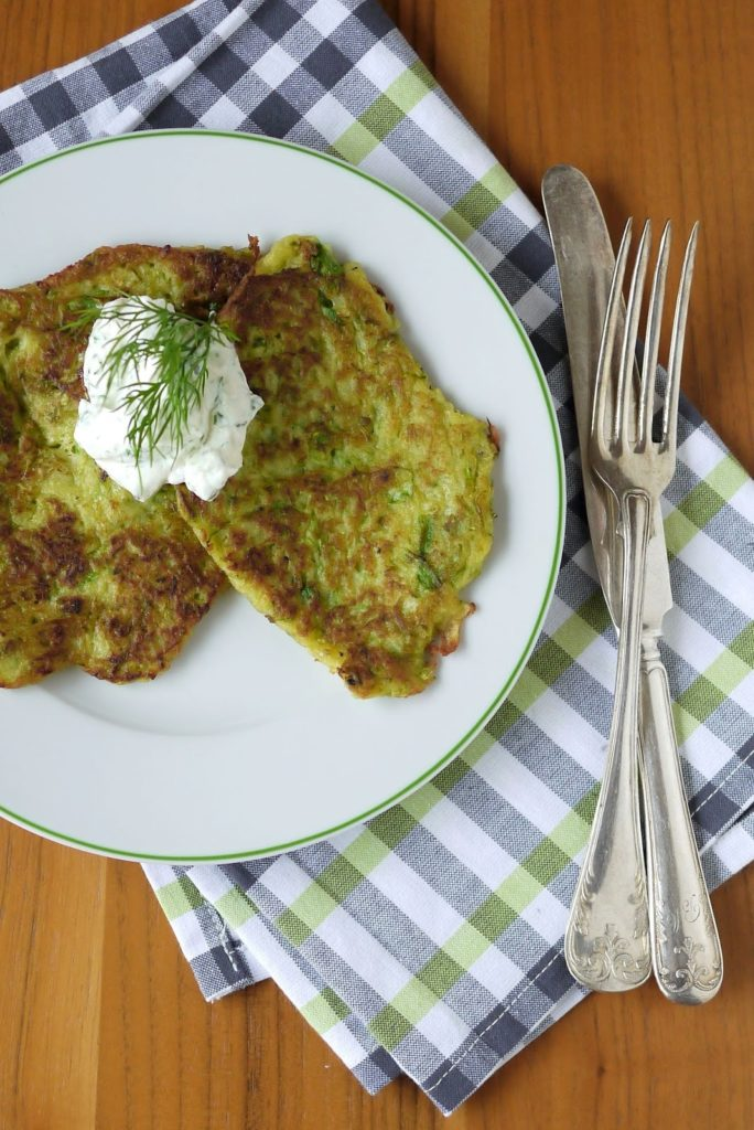 Experimente aus meiner Küche: Spargel-Kartoffel-Puffer