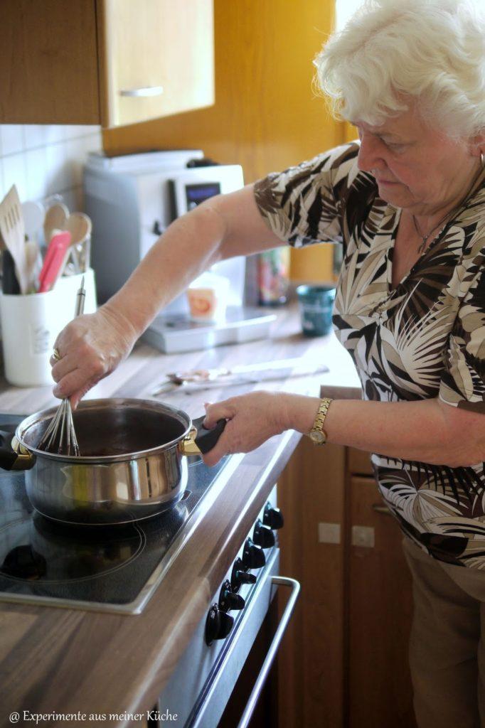 Experimente aus meiner Küche: Murzynek - polnischer Schokoladenkuchen #ichbacksmir
