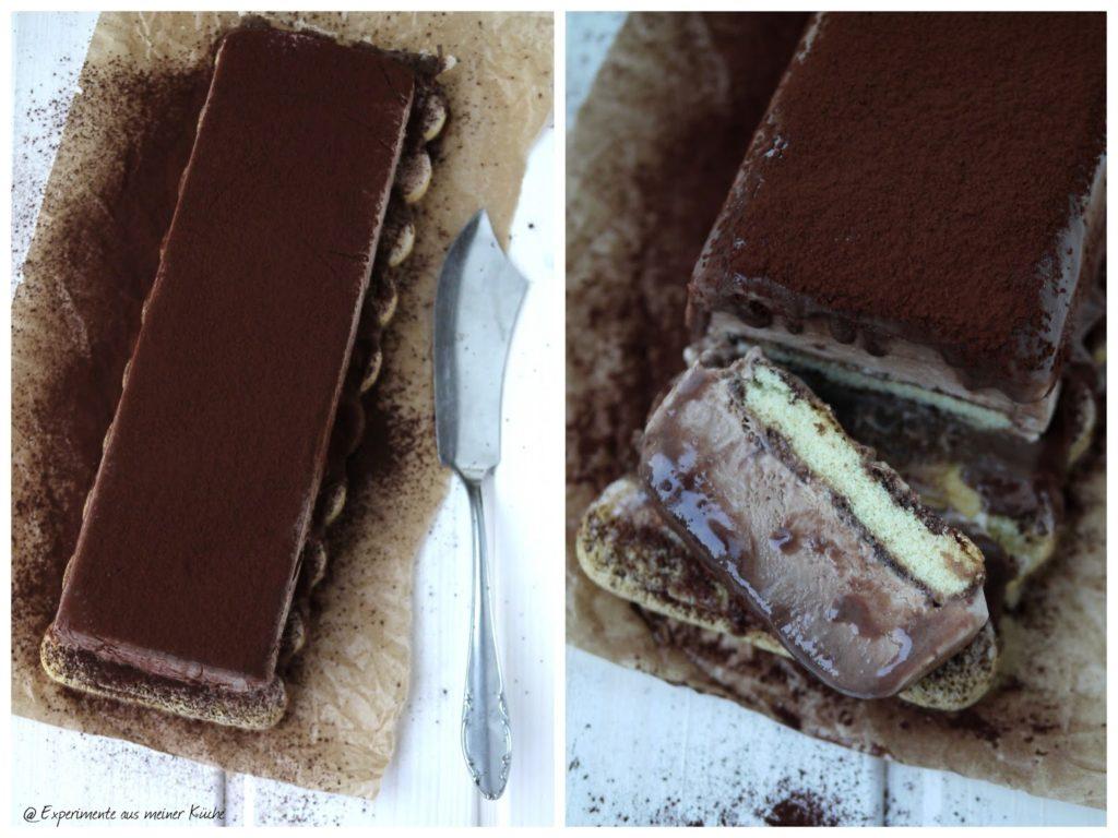 Experimente aus meiner Küche: Tiramisu-Eis (ohne Eismaschine)