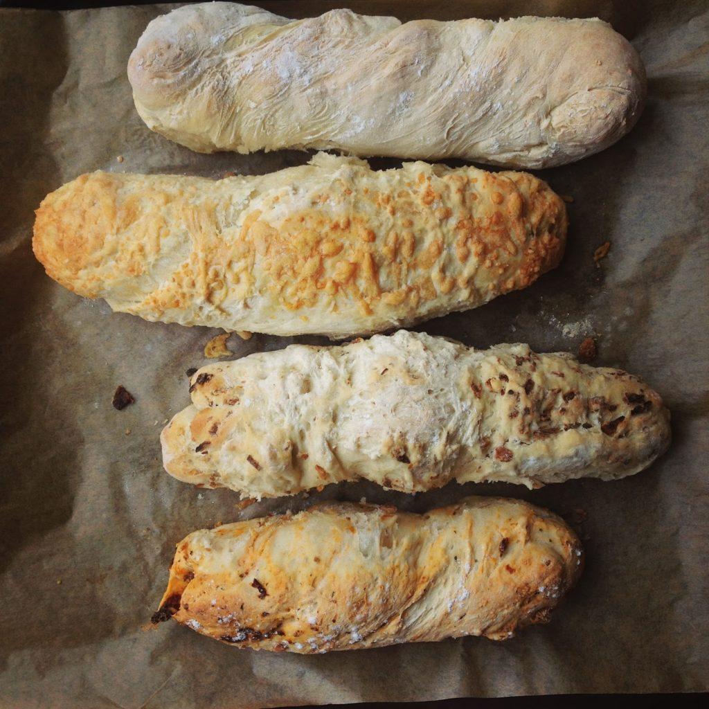 Experimente aus meiner Küche: Baguette