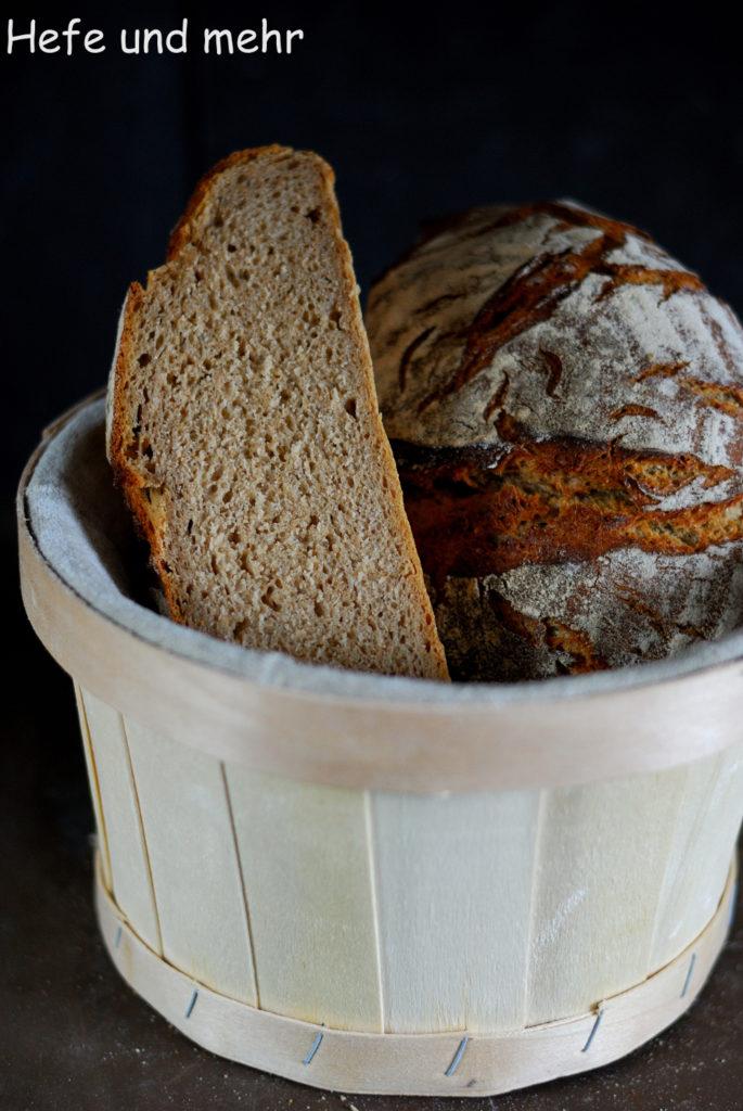 Experimente aus meiner Küche: Bauernbrot mit altem Brot #breadbakingfriday