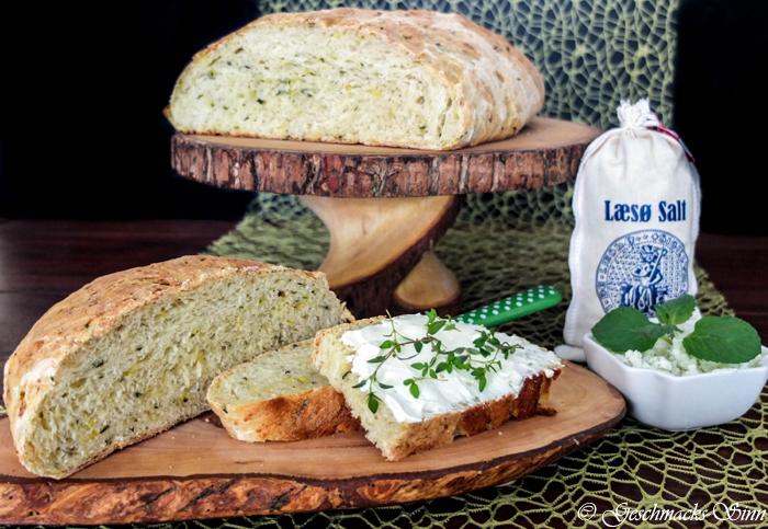 Experimente aus meiner Küche: Bread Baking (Fri)day: Zucchinibrot