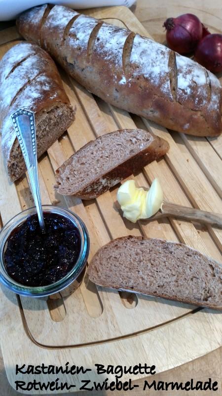 Experimente aus meiner Küche: Maronenbaguette #breadbakingfriday