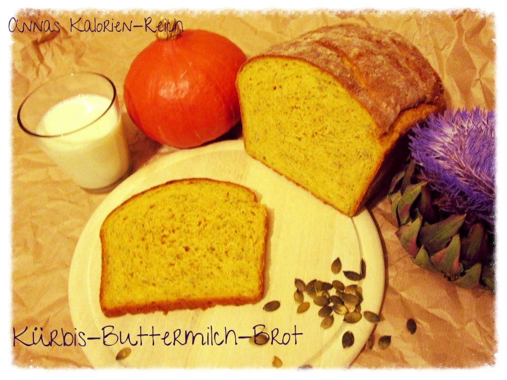 Experimente aus meiner Küche: Kürbis-Buttermilch-Brot #breadbakingfriday