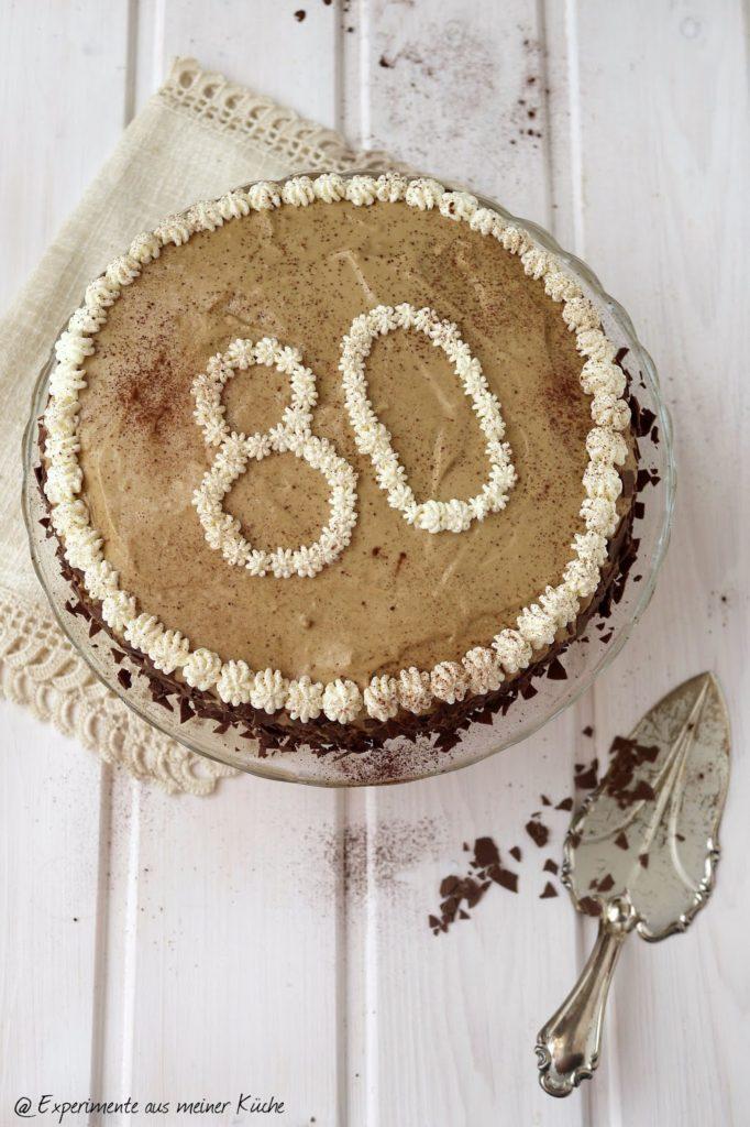 Experimente aus meiner Küche: Kaffee-Karamell-Torte