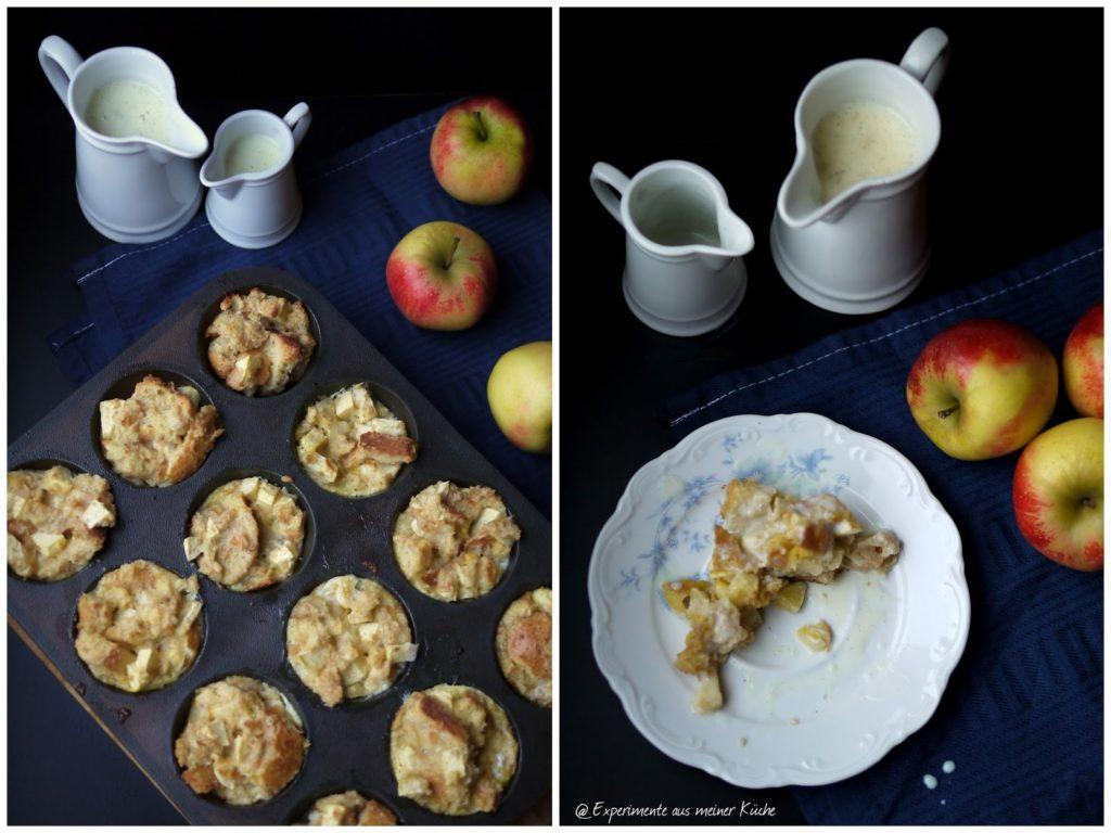Experimente aus meiner Küche: Mini-Scheiterhaufen mit Äpfeln