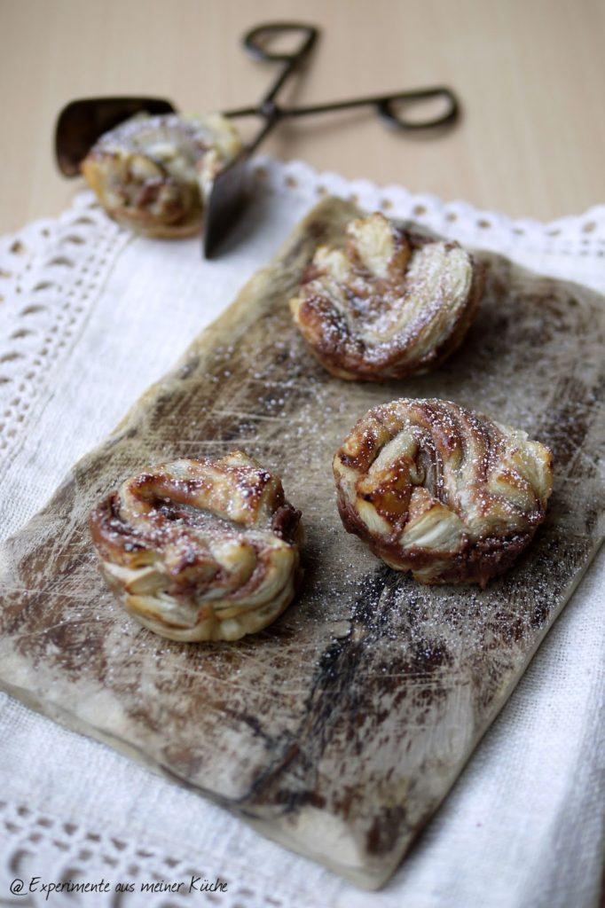 Experimente aus meiner Küche: Schoko-Blätterteig-Gebäck