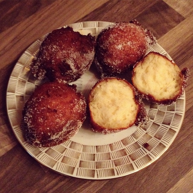 Experimente aus meiner Küche: Quarkbällchen