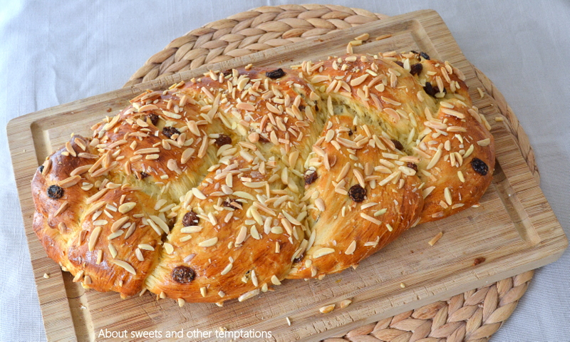 Experimente aus meiner Küche: Osterzopf #breadbakingfriday