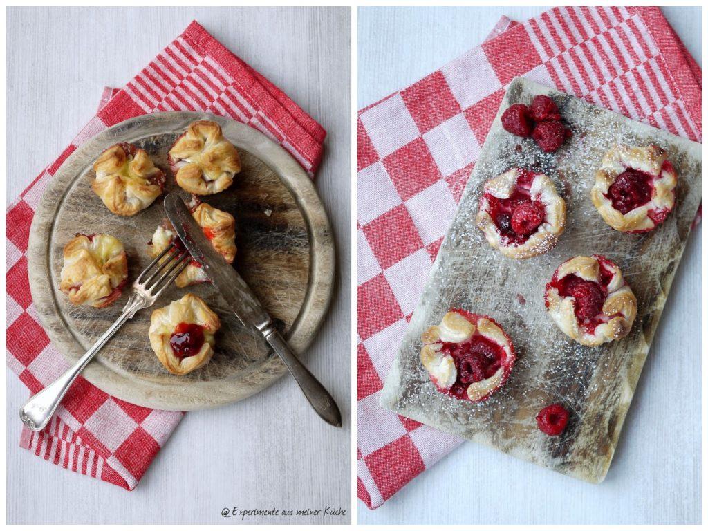Experimente aus meiner Küche: Zweierlei Blätterteigminis
