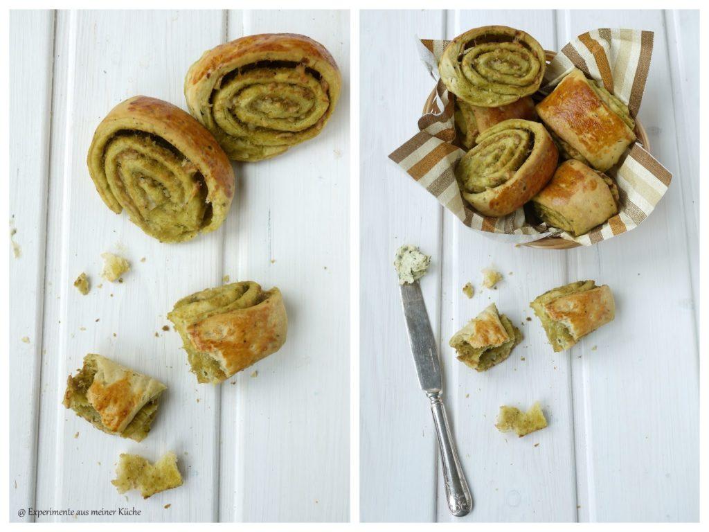 Experimente aus meiner Küche: Pestoschnecken #breadbakingfriday