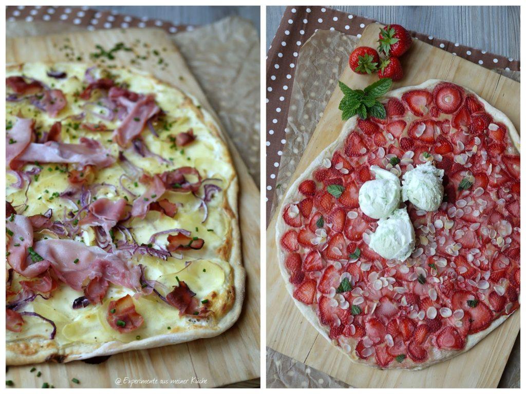 Experimente aus meiner Küche: zweierlei Flammkuchen #ichbacksmir