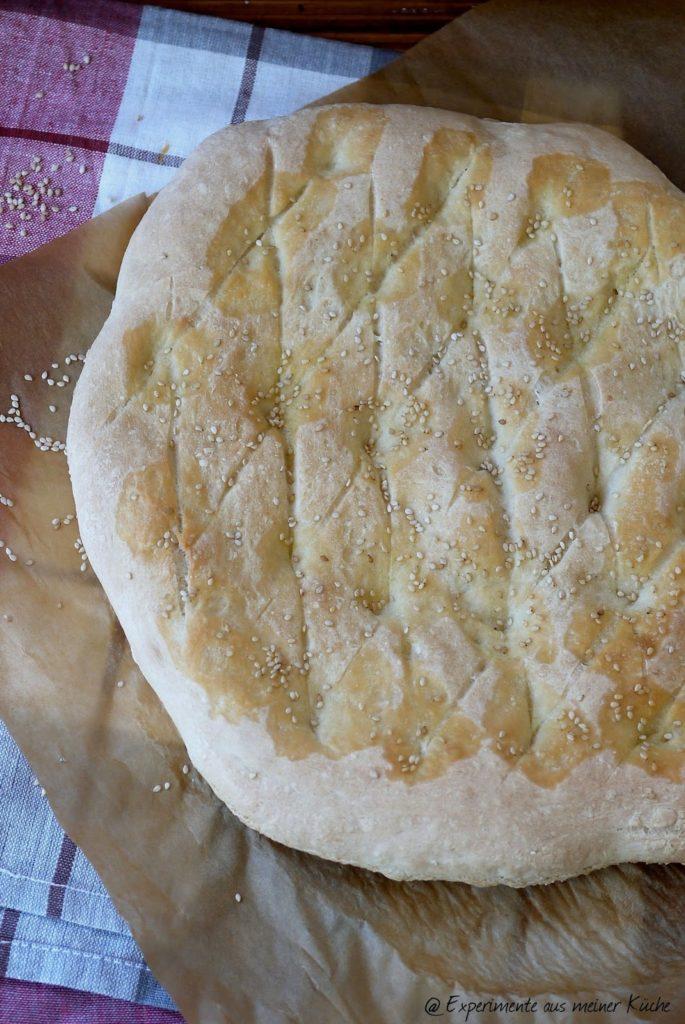 Experimente aus meiner Küche: Fladenbrot #breadbakingfriday