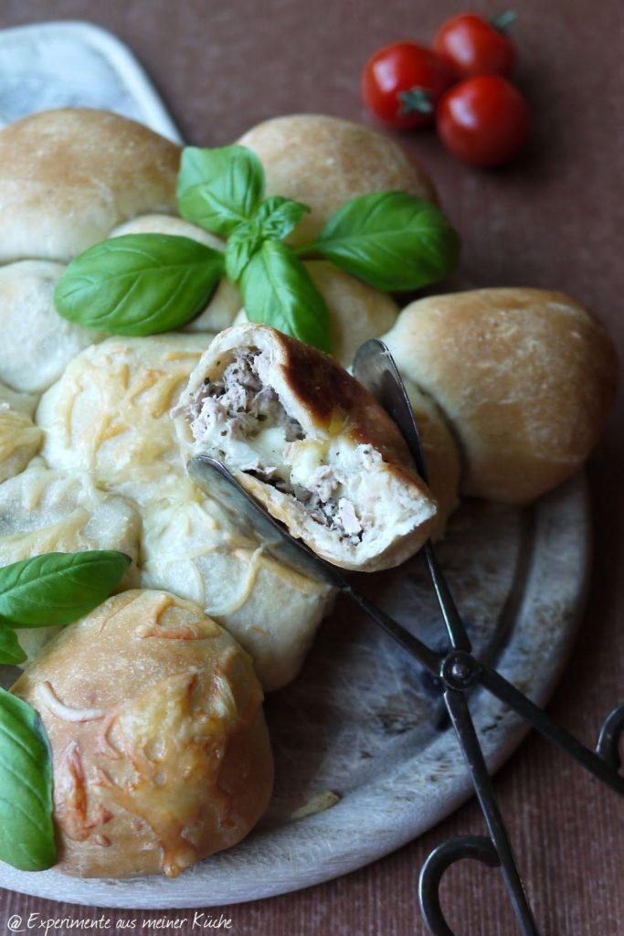 Experimente aus meiner Küche: Gefüllte Thunfischbrötchen