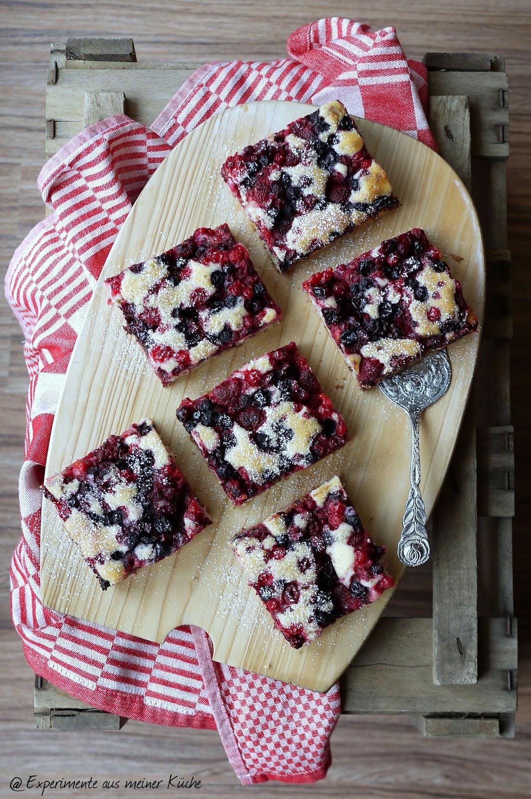 Schneller Beeren-Schoko-Kuchen - Experimente aus meiner Küche
