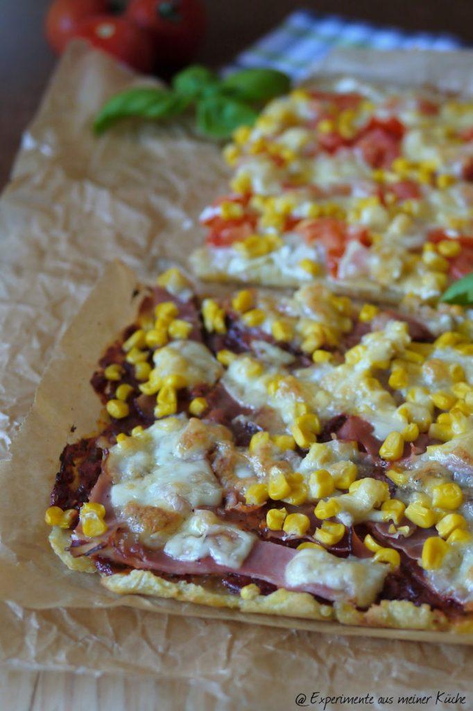 Experimente aus meiner Küche: Kloßteig-Pizza