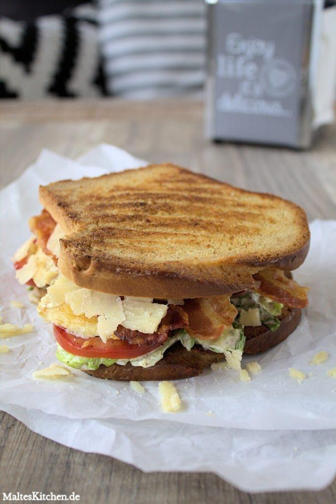 Experimente aus meiner Küche: Caesar Sandwich #breadbakingfriday