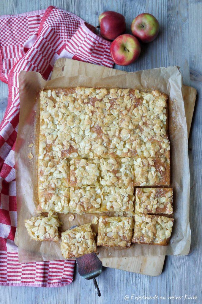 Experimente aus meiner Küche: Apfel-Butterkuchen mit Mandelkruste