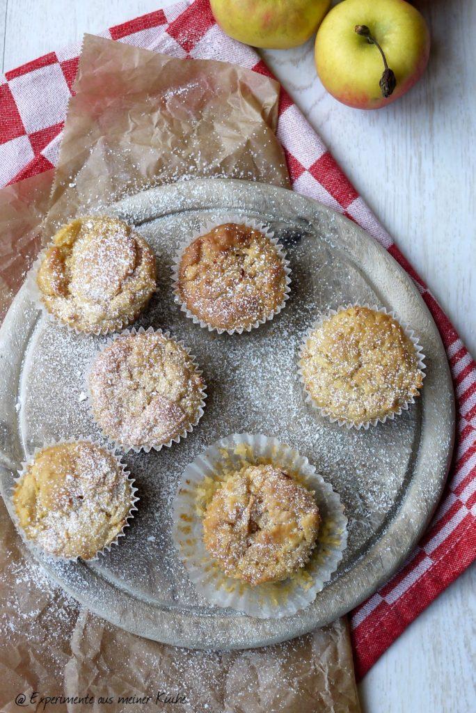 Experimente aus meiner Küche: Apfel-Zimt-Muffins #simplyyummy