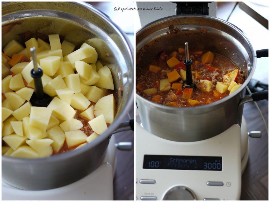 Experimente aus meiner Küche: Kürbis-Hack-Topf