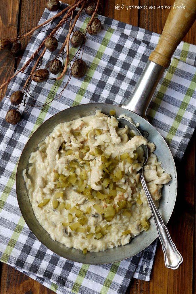 Experimente aus meiner Küche: Reispfanne alla Stroganoff
